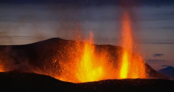 Profilm, icelandic volcano, National Geographic Channel